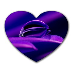 Waterdrop Mouse Pad (Heart)