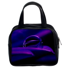Waterdrop Classic Handbag (Two Sides)