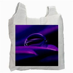 Waterdrop Recycle Bag (two Sides)