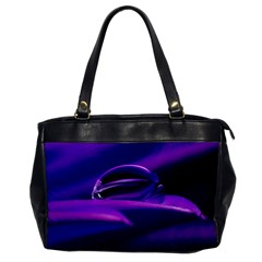Waterdrop Oversize Office Handbag (One Side)
