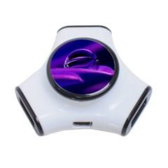 Waterdrop 3 Port USB Hub