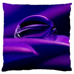 Waterdrop Large Cushion Case (Single Sided)