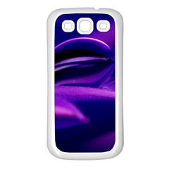 Waterdrop Samsung Galaxy S3 Back Case (White)