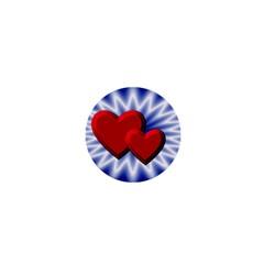 Love 1  Mini Button