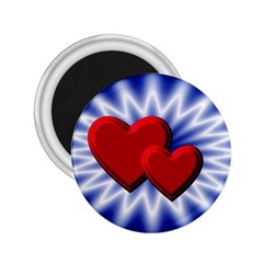 Love 2 25  Button Magnet