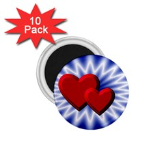Love 1 75  Button Magnet (10 Pack)