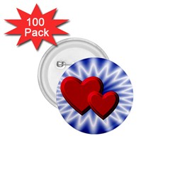 Love 1 75  Button (100 Pack)