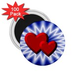 Love 2.25  Button Magnet (100 pack) Front