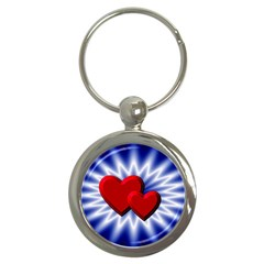 Love Key Chain (round)