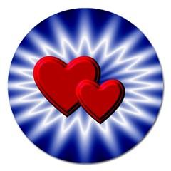 Love Magnet 5  (round)