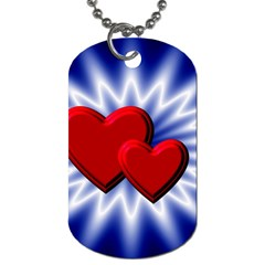 Love Dog Tag (Two-sided)
