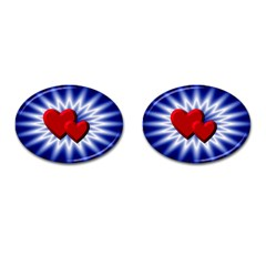 Love Cufflinks (Oval)