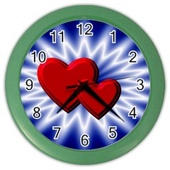 Love Wall Clock (Color)