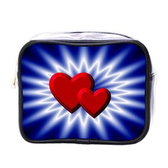 Love Mini Travel Toiletry Bag (one Side)