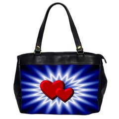 Love Oversize Office Handbag (Two Sides)