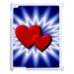 Love Apple iPad 2 Case (White)