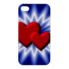 Love Apple iPhone 4/4S Premium Hardshell Case
