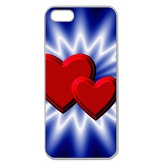 Love Apple Seamless Iphone 5 Case (clear)
