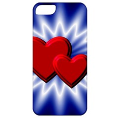 Love Apple Iphone 5 Classic Hardshell Case