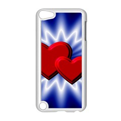 Love Apple iPod Touch 5 Case (White)