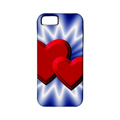 Love Apple iPhone 5 Classic Hardshell Case (PC+Silicone)