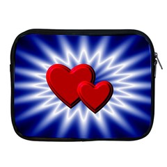 Love Apple Ipad 2/3/4 Zipper Case
