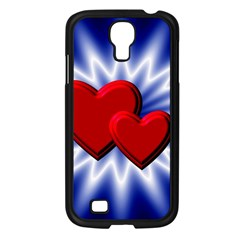 Love Samsung Galaxy S4 I9500/ I9505 Case (Black)