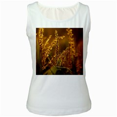 Field Womens  Tank Top (White)