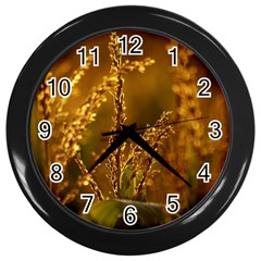 Field Wall Clock (Black)