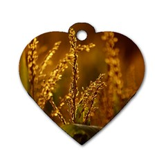 Field Dog Tag Heart (two Sided)