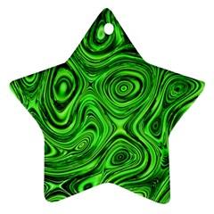 Modern Art Star Ornament