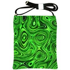 Modern Art Shoulder Sling Bag