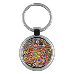 Modern  Key Chain (round)
