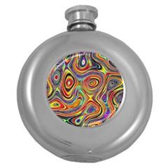 Modern  Hip Flask (Round)