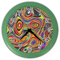 Modern  Wall Clock (Color)