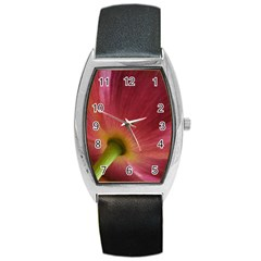 Poppy Tonneau Leather Watch