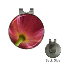 Poppy Hat Clip with Golf Ball Marker