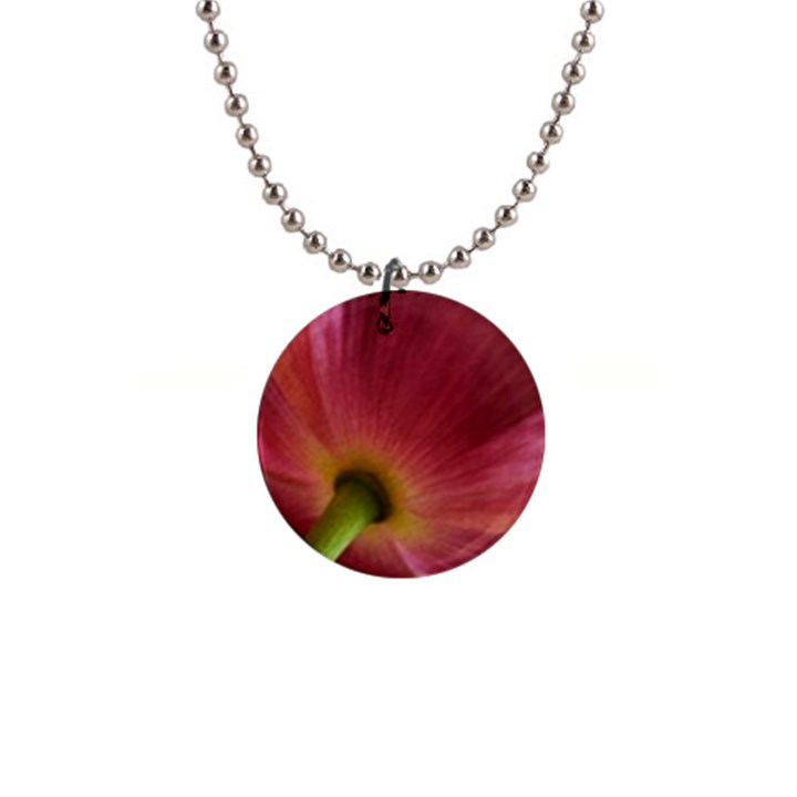 Poppy Button Necklace