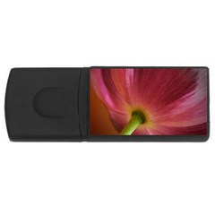 Poppy 4GB USB Flash Drive (Rectangle)