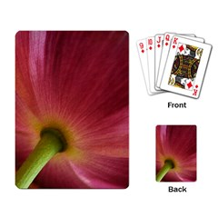 Poppy Playing Cards Single Design