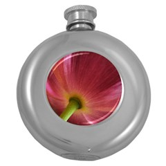 Poppy Hip Flask (Round)