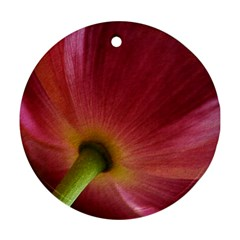 Poppy Round Ornament (Two Sides)
