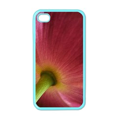 Poppy Apple Iphone 4 Case (color)
