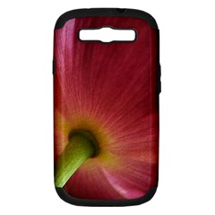 Poppy Samsung Galaxy S III Hardshell Case (PC+Silicone)