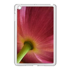 Poppy Apple iPad Mini Case (White)