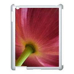 Poppy Apple iPad 3/4 Case (White)