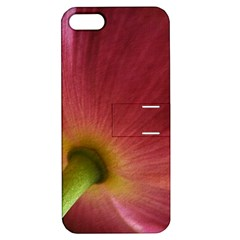 Poppy Apple iPhone 5 Hardshell Case with Stand