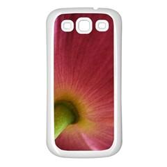 Poppy Samsung Galaxy S3 Back Case (White)