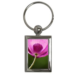 Poppy Key Chain (rectangle)