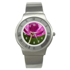 Poppy Stainless Steel Watch (Unisex)